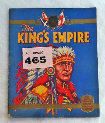 PP465 The Kings Empire Presented with The ROVER Boys' Coronation Library
