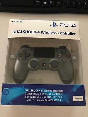 DUALSHOCK 4 V2 WIRELESS CONTROLLER (Steel Black)
