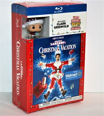 National Lampoon's Christmas Vacation Blu Ray (Walmart Exclusive Funko Pop)