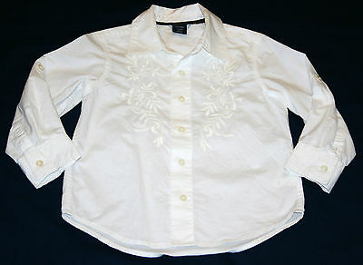 Baby Gap Toddler shirt Size 4 boys dressy long sleeved / button up