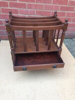 A Vintage Reproduction Canterbury Music/Magazine Rack.