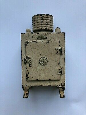 Vintage General Electric Refrigerator Hubley cast iron coin bank **LOWER PRICE**