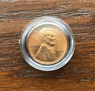 1944-S Lincoln Wheat Cent! Choice Bu! Nice Red Piece!