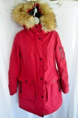 ec342935f 1 MADISON EXPEDITION Ladies Anorak Jacket Faux Fur - $119.99 | PicClick