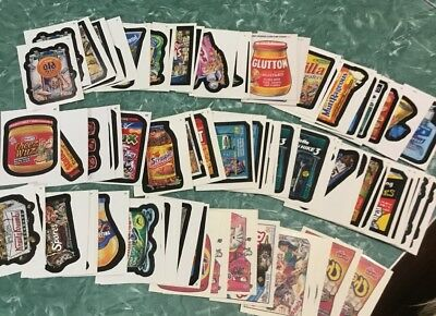 Topps Wacky Packages Misc 2004 2005 Series Cards And Tattos Lot 80 Cards