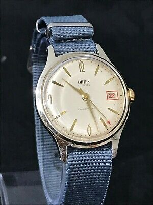 Vintage Smiths 5 jewels gentleman's watch - working order, nice condition