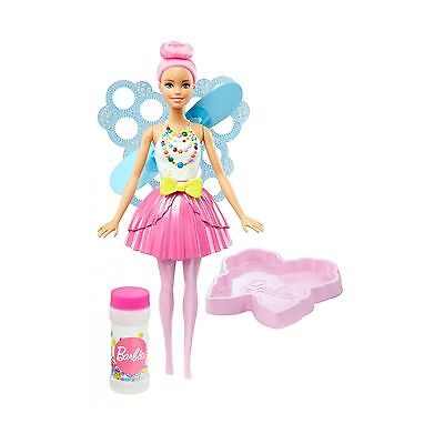 Barbie Dreamtopia Bubbletastic Pink Fairy Doll NEW IN BOX pull string Great Gift