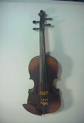 PETRUS GUARNERIUS Antique 19th Century VIOLIN with 1 PIECE TIGER MAPLE BACK