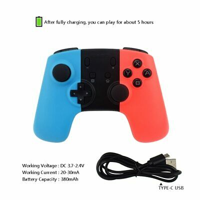 Wireless Bluetooth Controller Joypad Gamepad for Nintendo Switch Console YBMC