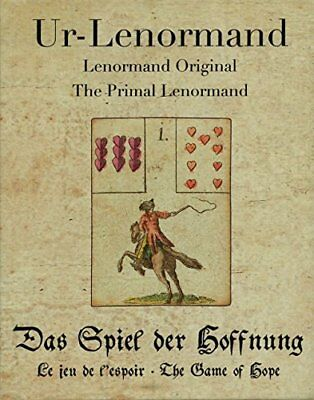 NEW - Primal Lenormand The Game of Hope by Alexander Gluck