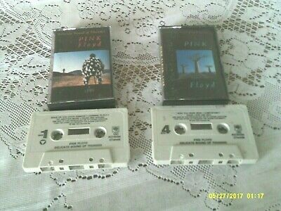 Pink Floyd. Delicate Sound Of Thunder. 2 Cassette Set. Columbia. P2T 44484. 1988