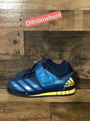 ADIDAS POWERLIFT 3.1 mens Weightlifting shoes BA8015 Size 4