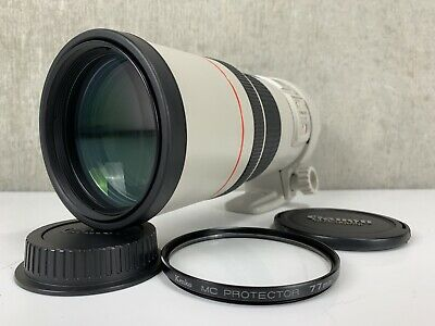 Canon EF 300mm f/4L IS USM Sold As Is From Japan