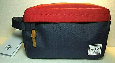 bd2685c851a8 HERSCHEL SUPPLY CO. Chapter Travel Kit Carry On Navy/Red Toiletry ...