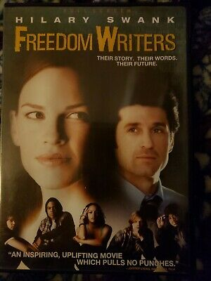 New Freedom Writers Hilary Swank Free Shipping Loose Disc