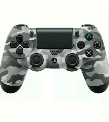 OFFICIAL SONY PS4 DUALSHOCK 4 WIRELESS CONTROLLER - NEW & SEALED Grey Camo