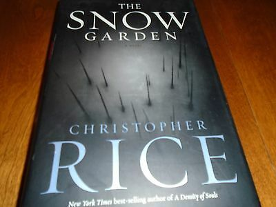 The Snow Garden : A Novel Signed by Christopher Rice (2002, HC 1st/1st)