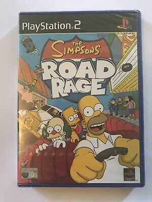 The Simpsons Road Rage PS2 - Brand NEW & Factory Sealed! - PAL - PlayStation 2