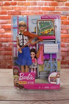Barbie Music Teacher Doll and Playset Kid Toy Gift