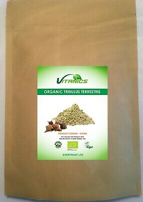 Organic Tribulus Terrestris Powder 100g