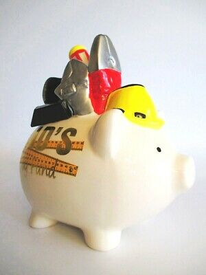Dads Toy Fund Werkstatt Spardose Sparschwein 17 cm  money bank