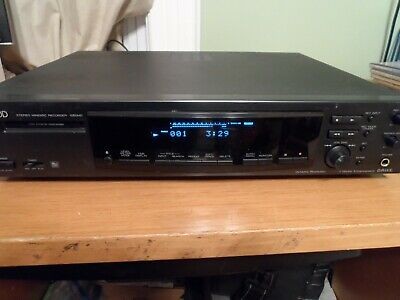 Kenwood Minidisc Player/Recorder 1050MD Working NO Remote