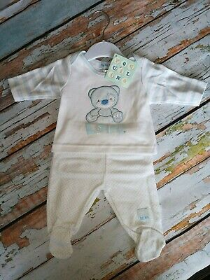 Tiny Baby Boy 2 Piece Sleepsuit Sizes 5lb & 7lb Available Ideal Gift  £10.50
