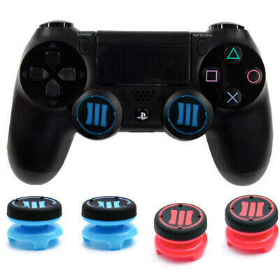 2x MOD PS4 Thumb/Grips/Sticks Duty Extender Dualshock Controller Sony Joy 8Color