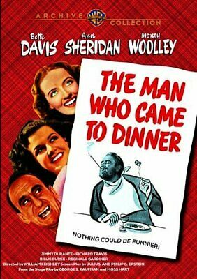 The Man Who Came to Dinner (1942 Bette Davis) DVD NEW