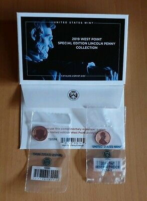 LINCOLN CENT USA 2019 W (WEST POINT ) Reverse Proof Finish Struck