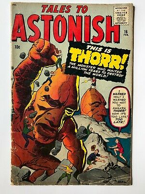 Tales To Astonish #16 G+ Thorr!