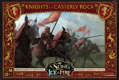 A Song of Ice and Fire Miniatures Game: Knights of Casterly Rock Game of Thrones
