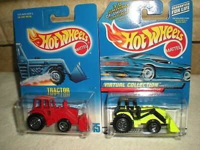 Hot Wheels  Construction Tractor Front End Loader Vehicle Diecast 1:64