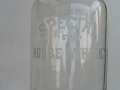 Original  Australian Glass Whisky Decanter - Special House Whisky - Excell Cond