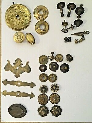 Vintage Architectural Hardware Lot of Washers and more