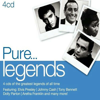 Pure...Legends - Various Artists (2013) 4CDS of the Greastest Artists Ever VGC!!