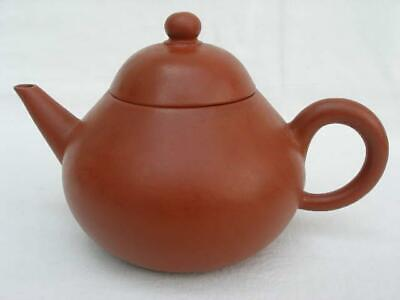 Superb Signed Vintage Chinese Red Earthenware Yixing Teapot.