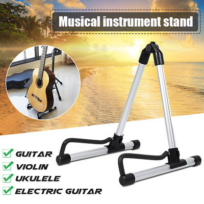 Universal Folding Electric Acoustic Bass Guitar A-Shape Frame Floor Stand Holder