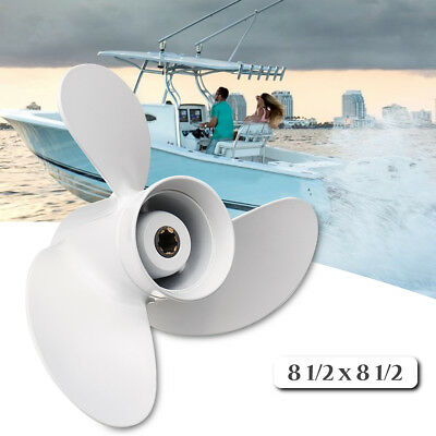 8 1/2 x 8 1/2 Aluminum Boat Outboard Propeller For Yamaha 6-8HP 6G1-45941-00-EL