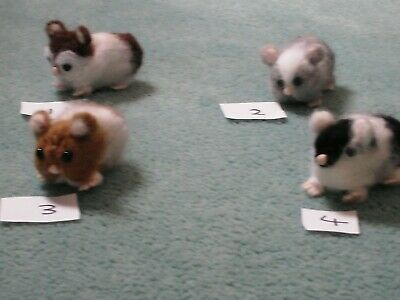 Needle felted Guinea pig magnet