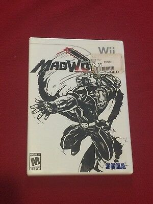 Nintendo Wii Mad World Video Game Rated M