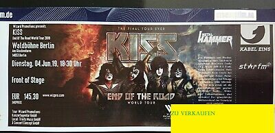 KISS Front of Stage, 04.06.19,  Waldbühne Berlin, 1 Ticket, incl. Versand