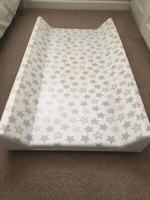 BABY HARD BASE CHANGING MAT / TOP CHANGER FITS COT or COT BED