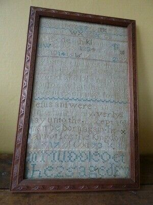 Antique Sampler Dated 1773 - 246 Years Old!