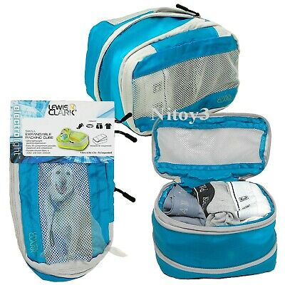Lewis N Clark ElectroLight Expand-Compress Packing Cube-Luggage Organizer Small