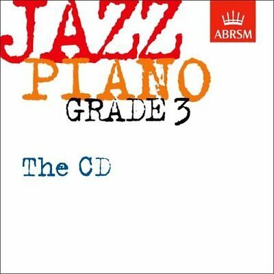 Jazz Piano Grade 3: The CD (ABRSM Exam Pieces) - ABRSM CD 2XVG The Cheap Fast