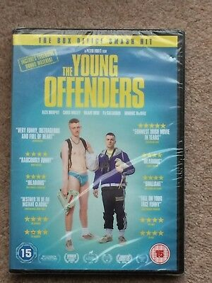 New Sealed The Young Offenders (DVD) Irish Comedy + DVD Extras Chris Walley