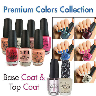 OPI Nail Lacquer 0.5oz PREMIUM COLORS, BASE, TOP COAT. ANY 3 STARTING $16.00 NEW