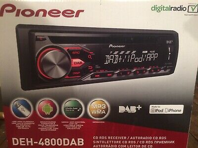 CD/MP3-Autoradio mit DAB iPod USB AUX-IN Pioneer DEH-4900DAB DEH-S410DAB