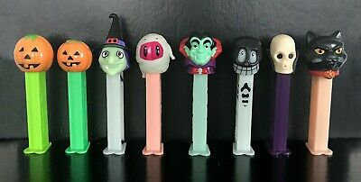 👻 Lot of 13 PEZ Halloween Dispensers Assortment, Some GID, Loose